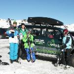 transportation by arrangement to ski fields