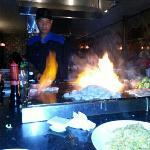 dinner at Kono