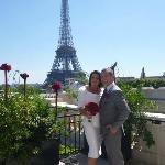 A wonderful wedding day at Shangri-La Hotel, Paris