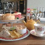 Our delicious homemade afternoon tea - £6.95 including tea or coffee
