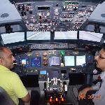 Ground briefing with Pilot ( Vybhava Srinivasan )