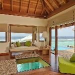 Ocean Bungalow Living Area