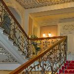 Hotel main staircase
