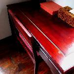 hardwood floors and beautiful furnishing