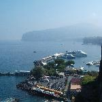 Sorrento Port from Town