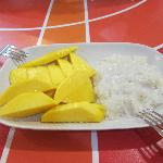 Highlight! Mango Sticky Rice~ Must Try!