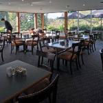 Overlooking gardens/golf course