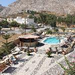 Panorama lato piscina