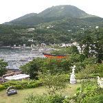 元箱根・駒ヶ岳を望む