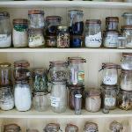 Jars in the kitchen
