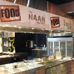 Naan factory and the Indian zone