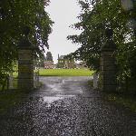 Zufahrt zum Culloden House
