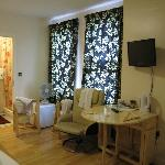 inside the room. Simple but equipped with all necessary furniture