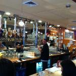 The bar at BCB&B