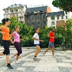 Steady pace as you enjoy Madrid's beauty!