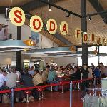 Soda Fountain in Canyon General Store