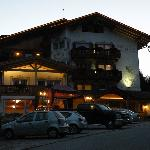 Hotel LES ALPES by night