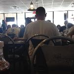 Packed house for lunch at Larry's Giant Subs