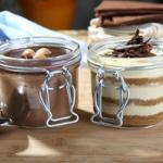 Mousse de Chocolate y Tiramisú