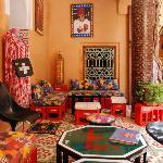 Gallery in marrakech