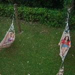 Relaxing in the Hammocks