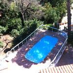 vue piscine prise du 3ème étage