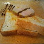 Pate sfogliato con pane