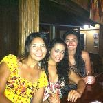 us girls having a blast at coconut tree