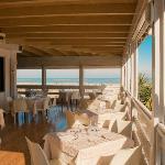 """La terrazza sul mare de """" La Vongola"""""""