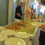 Gala dinner night buffet