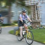 Biking is a popular activity of guests at Parkview B&B