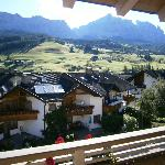 Dolomites from the balcony