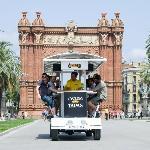 Bicibar Barcelona Arc de Triomf