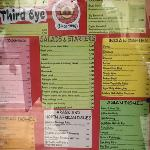 example of the great menu