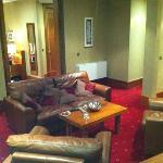 suite 305 lounge area.