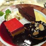 assortiments de dessert