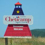 Sign for Cheticamp