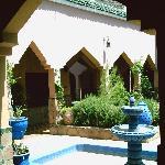 Central Garden - open roof