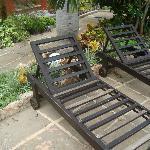 Las sillas de la alberca no pueden utilizarse