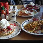massive breakfast