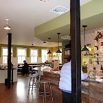 Order breakfast and lunch at the counter at CrossRoads Food Shop