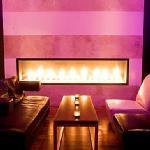Sexy fireplace sitting area