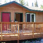 Outside of Cabin 35