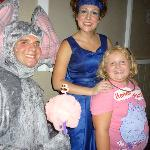 Horton and Blue Bird with Granddaughter