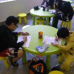 The Park's Information Centre provides activities for kids such as drawing, colourful etc.