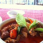 Red Curry With Duck  @ 132 Riverside Cafe At The Nonthaburi Pier