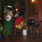 Music and dancing (even for my baby) during dinner