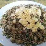 Brown Fried Rice with Egg