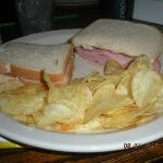 ham sandwich, easy and right