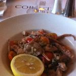 Sautéed Octopus at Corinthia Hotel St. Georges Bay, Malta